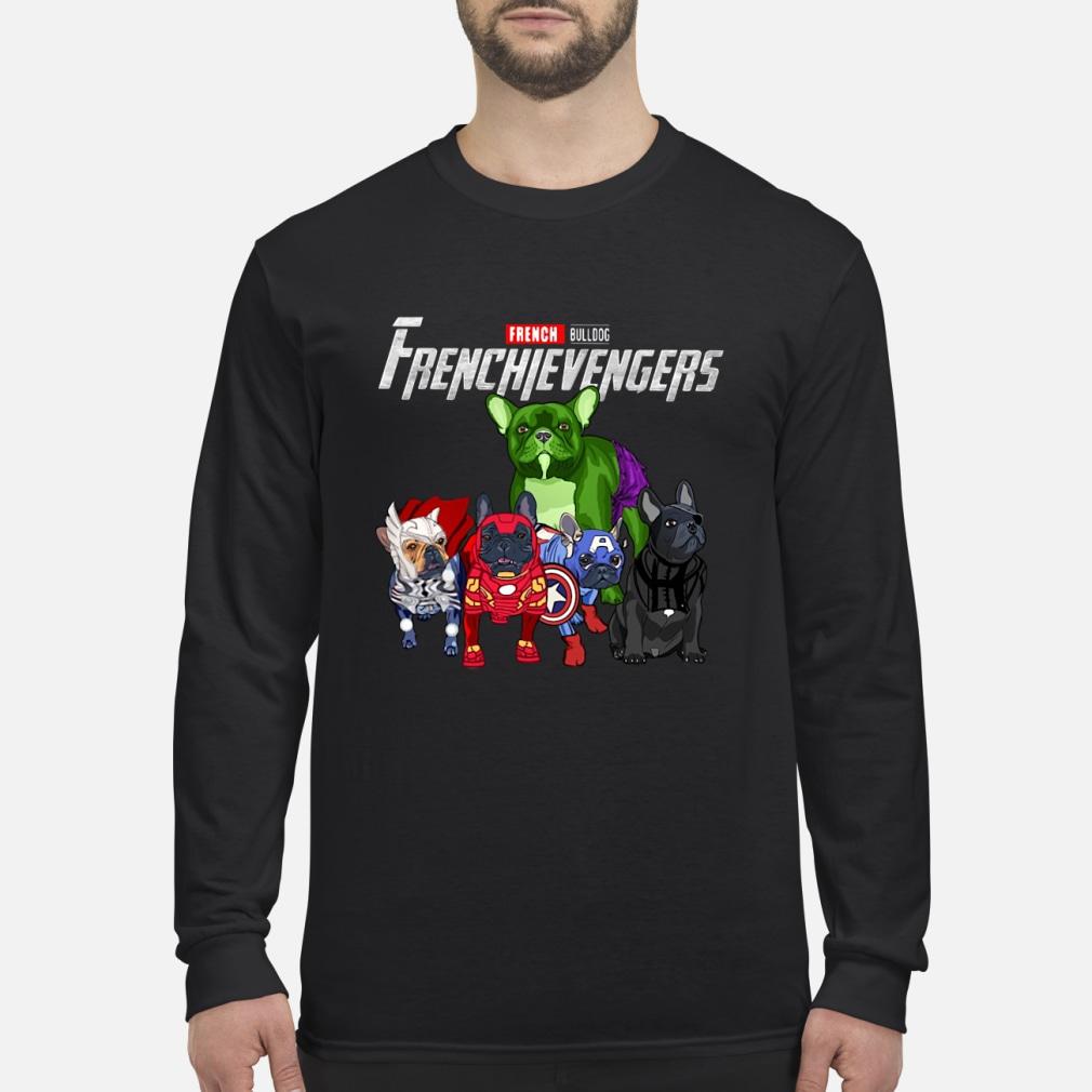 Frenchievengers French Bulldog shirt Long sleeved
