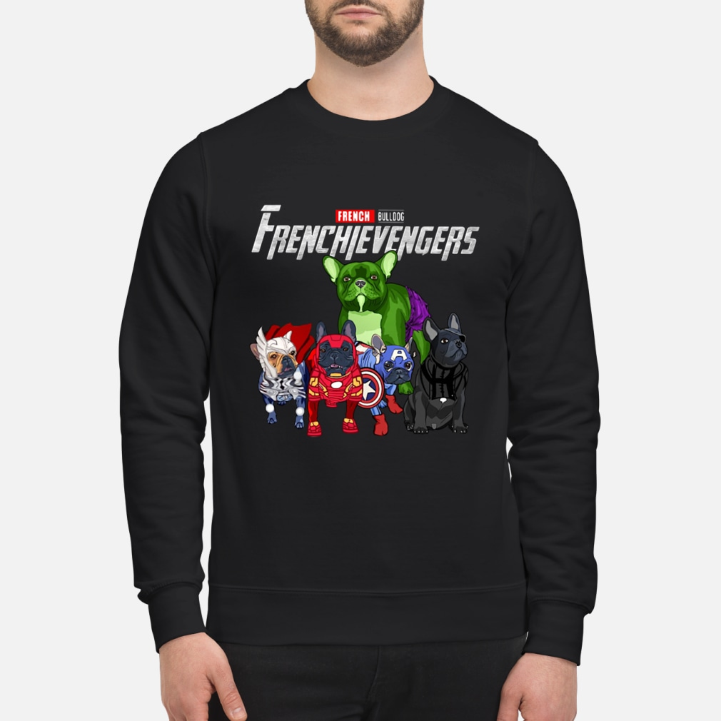 Frenchievengers French Bulldog shirt sweater