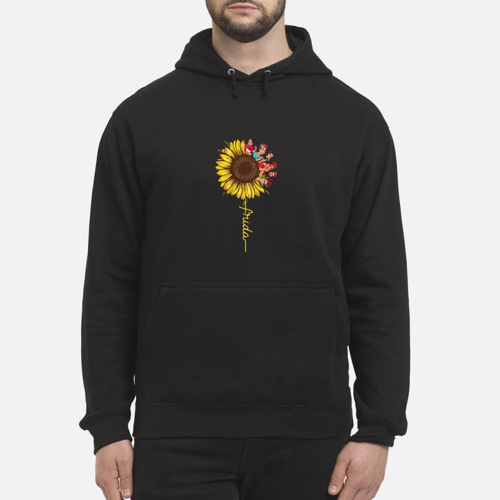 Frida Kahlo sunflower ladies shirt hoodie