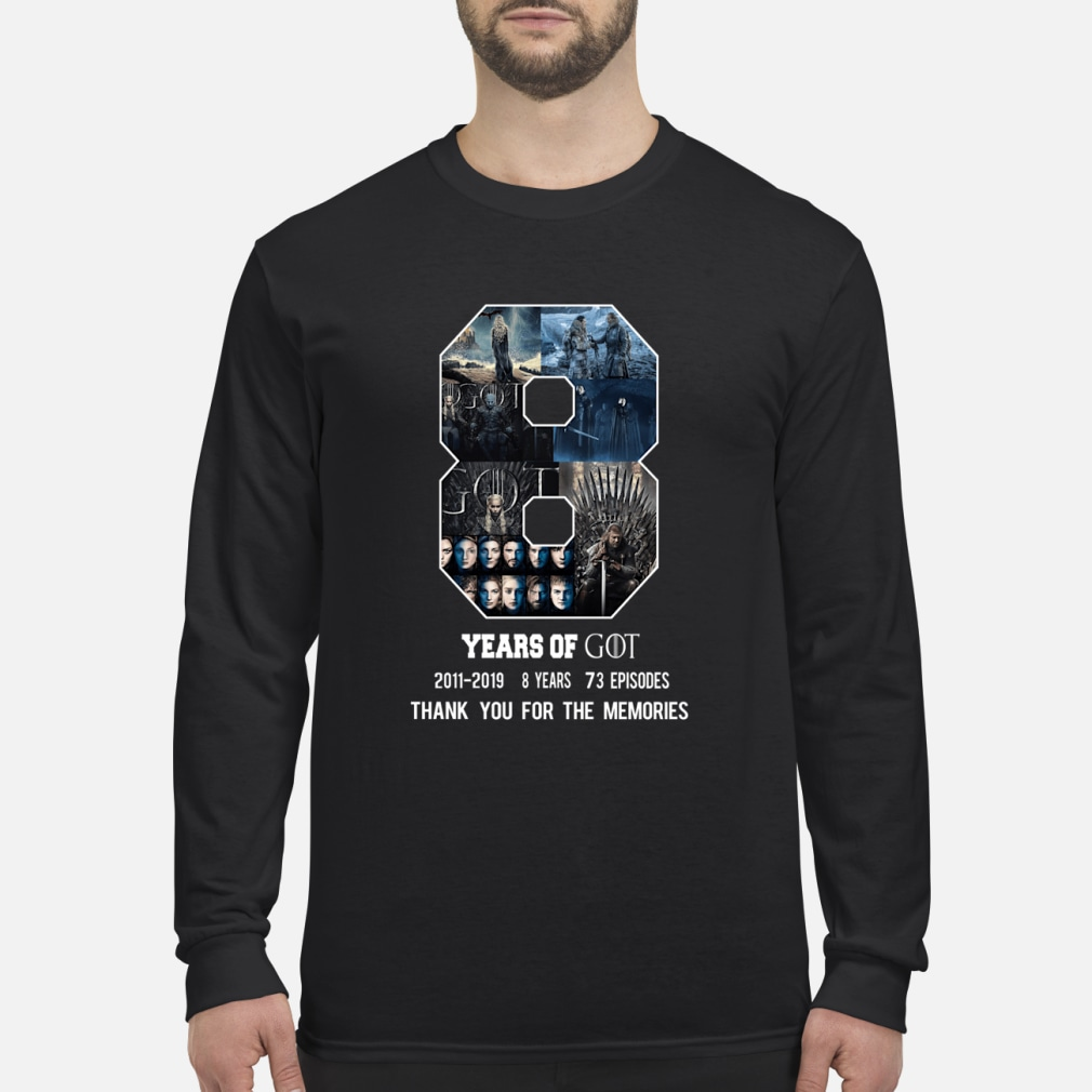 GAME OF THRONES SHIRT Long sleeved