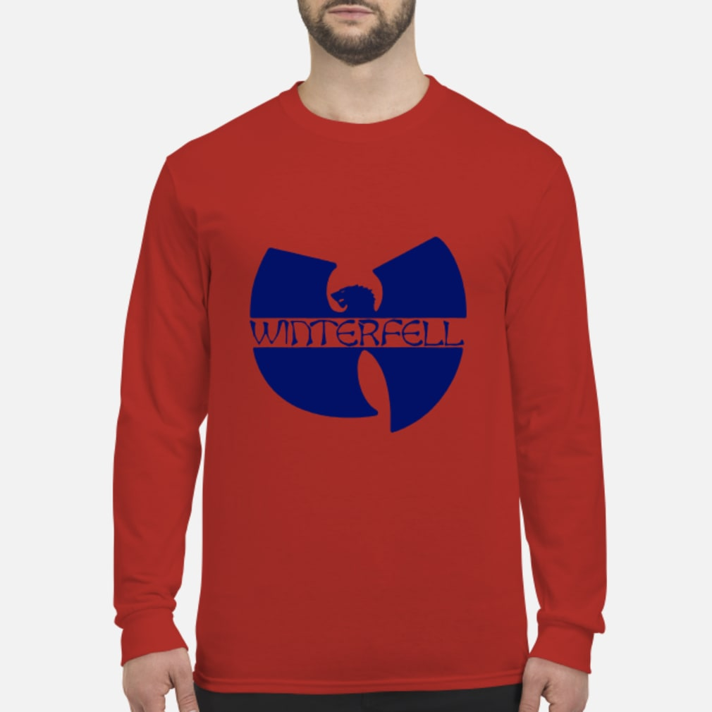Game Of Thrones Wu Tang winterfell Shirt long sleeved