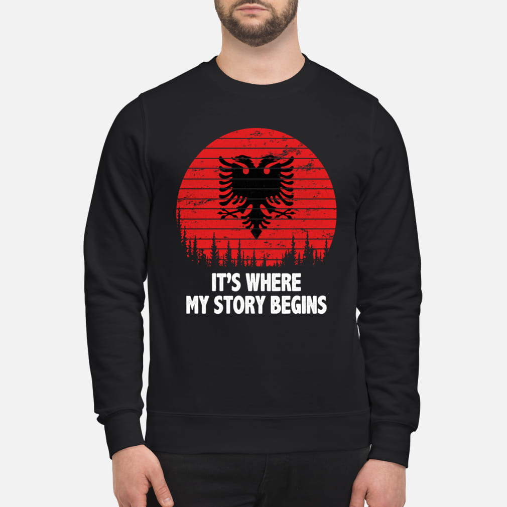 It's where My story begins shirt sweater