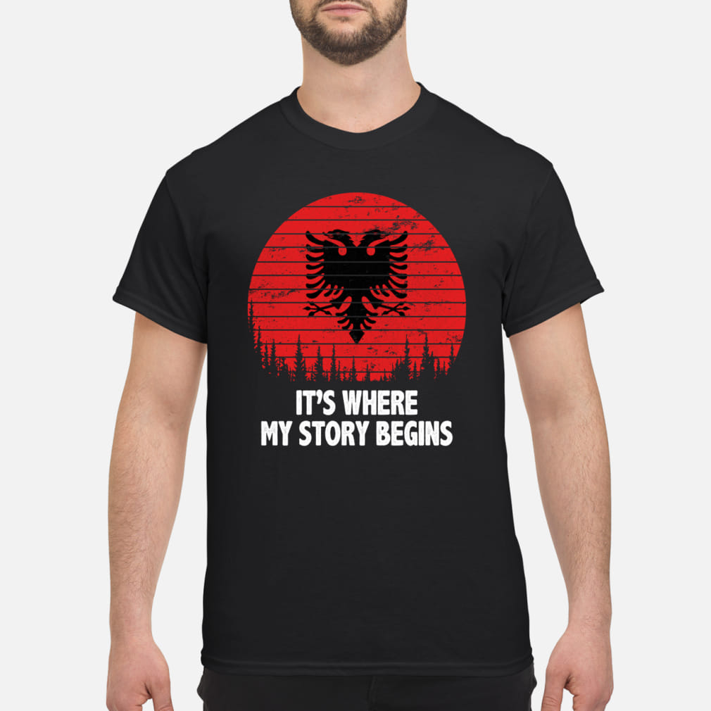 It's where My story begins shirt