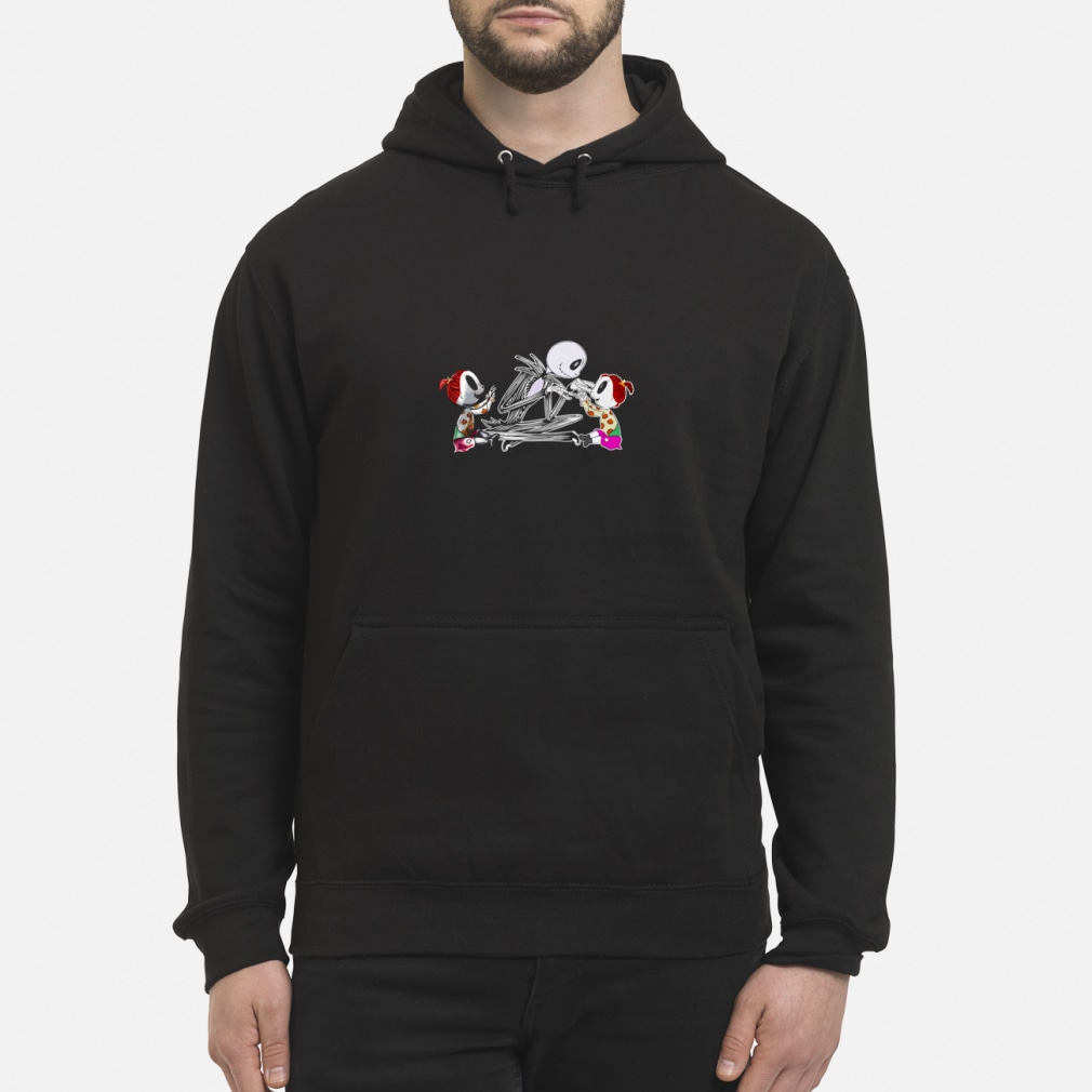 Jack with Twin Girls Shirt hoodie