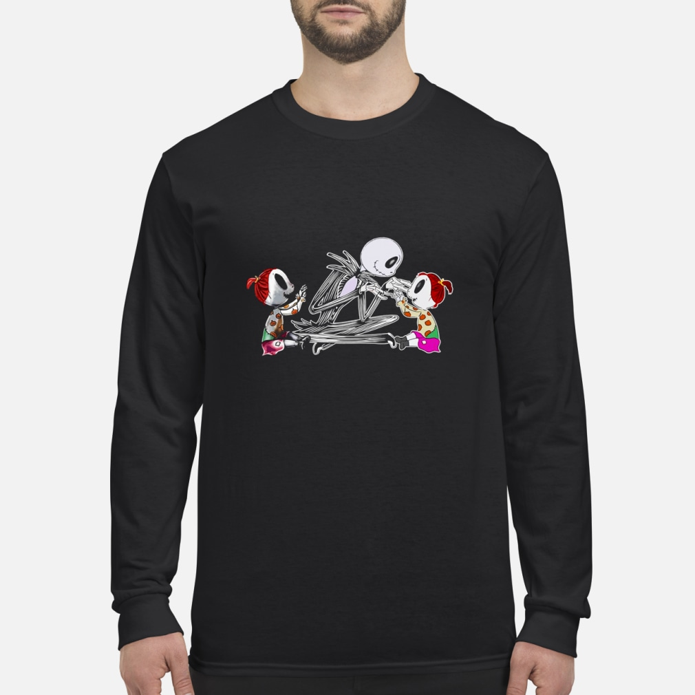 Jack with Twin Girls Shirt Long sleeved