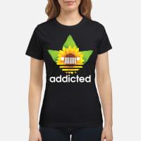 Jeej sunflower addicted shirt ladies tee