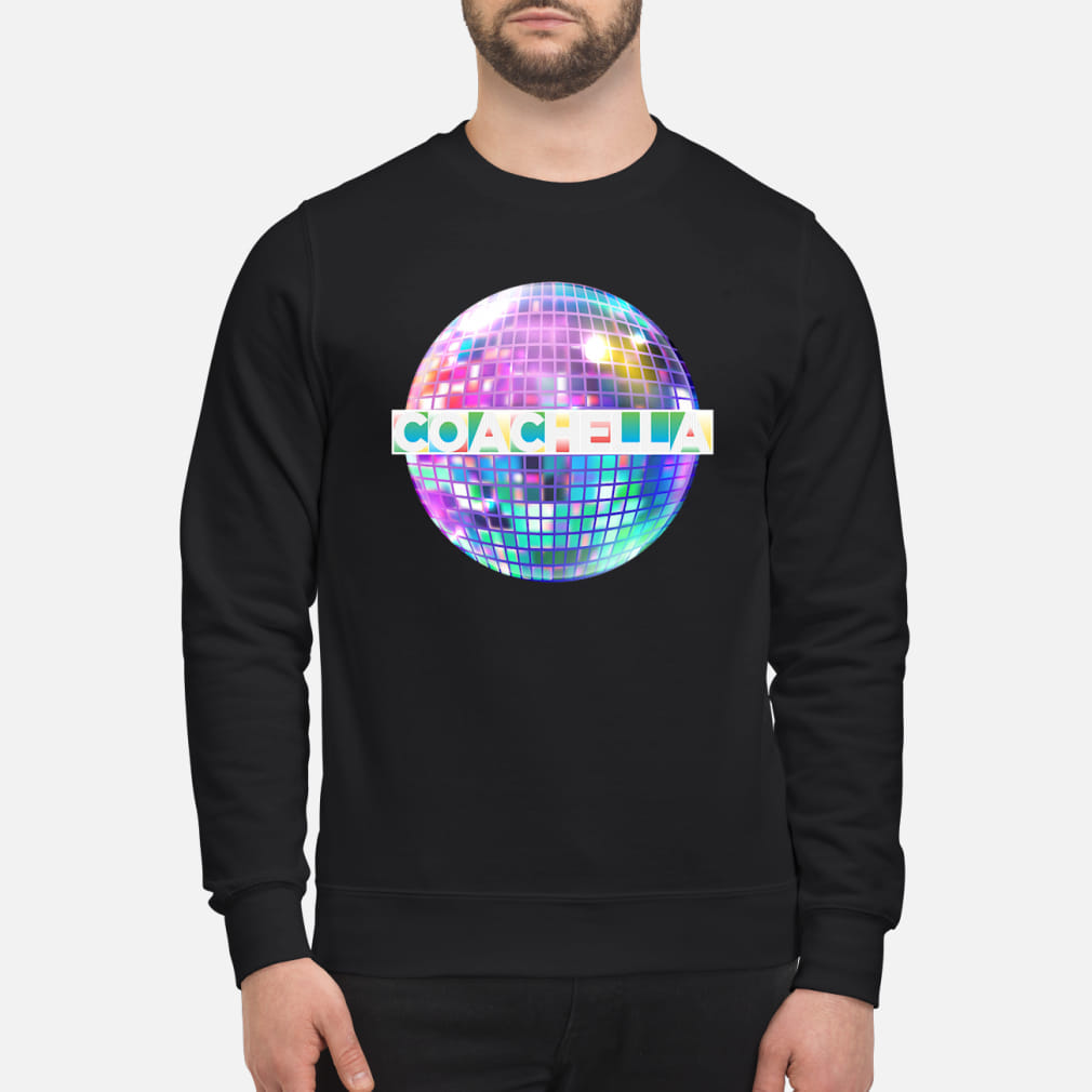LIGHT-UP BLINKING COACHELLA SHIRT sweater