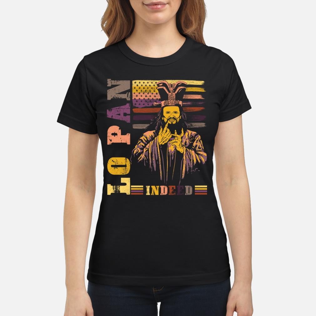 Lopan indeed USA vintage shirt ladies tee