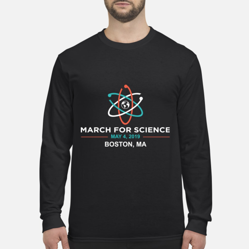 March for Science 2019 Boston, MA Shirt long sleeved