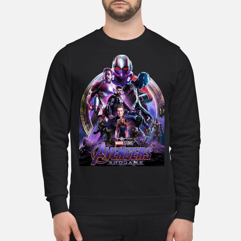 Marvel Avengers EndGame poster sweatshirt sweater