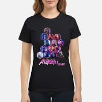 Marvel Avengers Endgame Poster Hive shirt ladies tee