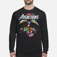 Marvel Avengers Endgame Unicorn Avencorns ladies shirt long sleeved
