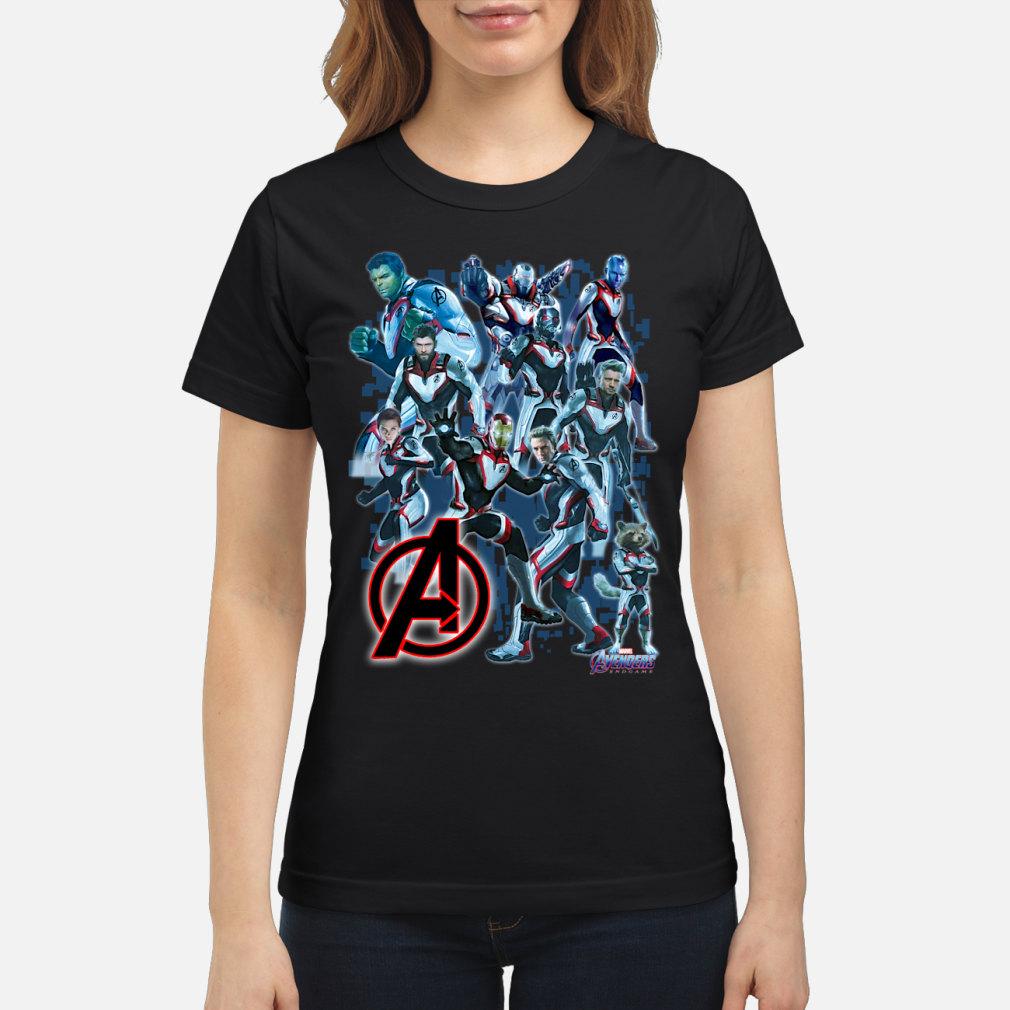 Marvel Avengers Endgame shirt ladies tee