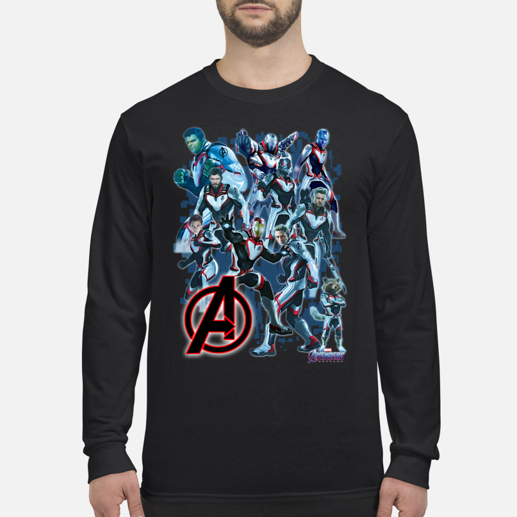 Marvel Avengers Endgame shirt Long sleeved