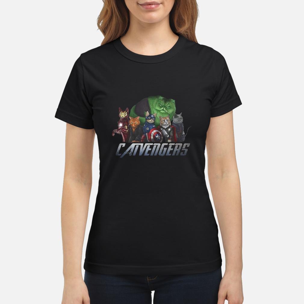Marvel Catvengers avengers shirt ladies tee