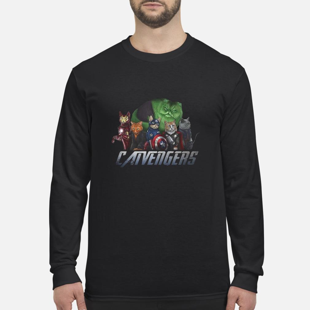 Marvel Catvengers avengers shirt Long sleeved