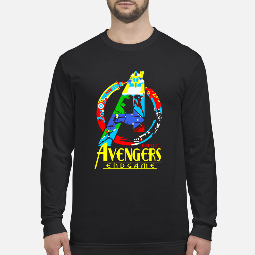 Marvel's Avaengers Endgame ladies shirt Long sleeved