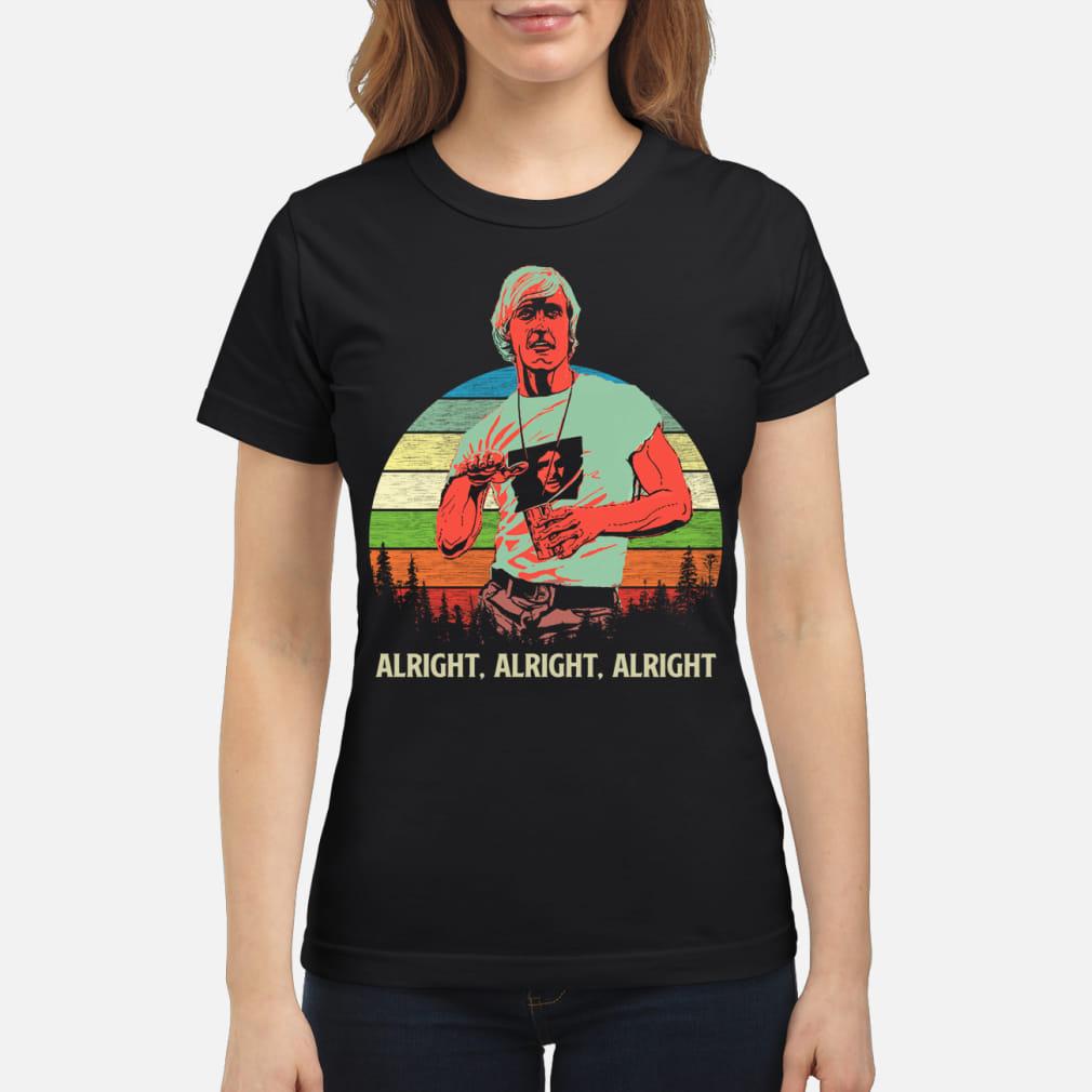 Matthew mcconaughey vintage shirt ladies tee