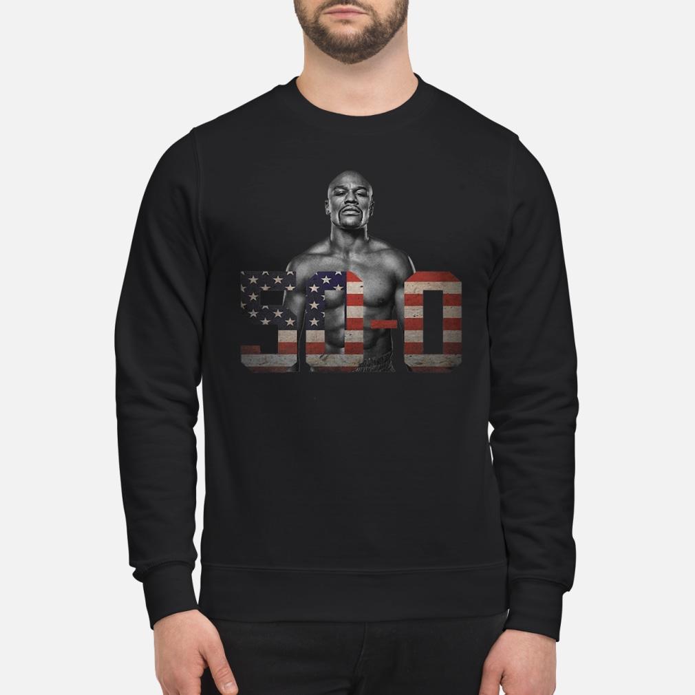 Mayweather 50 – 0 shirt sweater