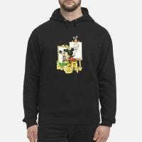 Mickey mouse drawing Walt Disney shirt hoodie
