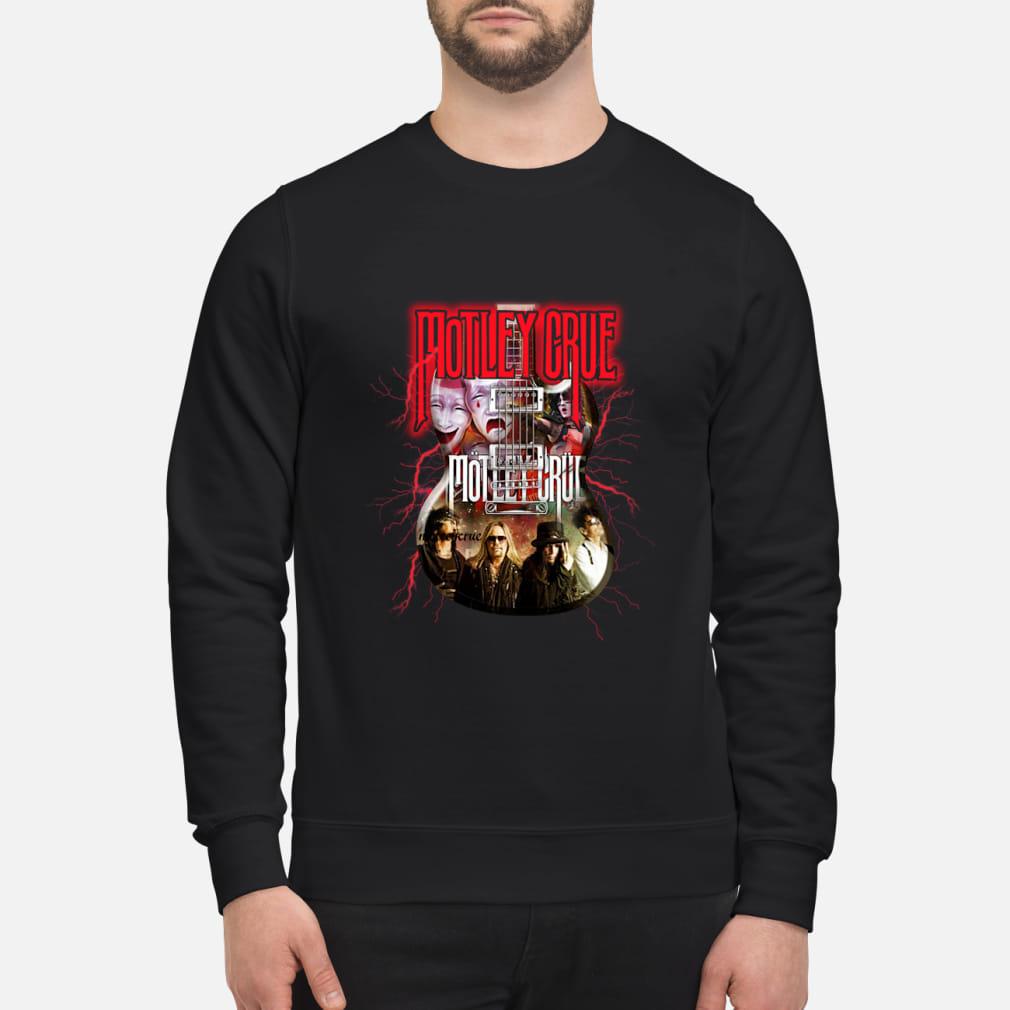 Motley Crue In Electric Guitar Shirt sweater