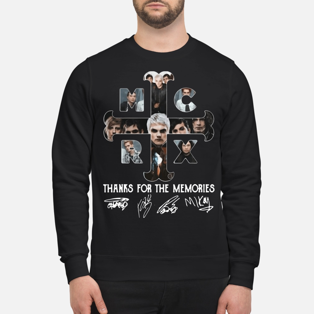 My Chemical Romance thanks for the memories ladies shirt sweater