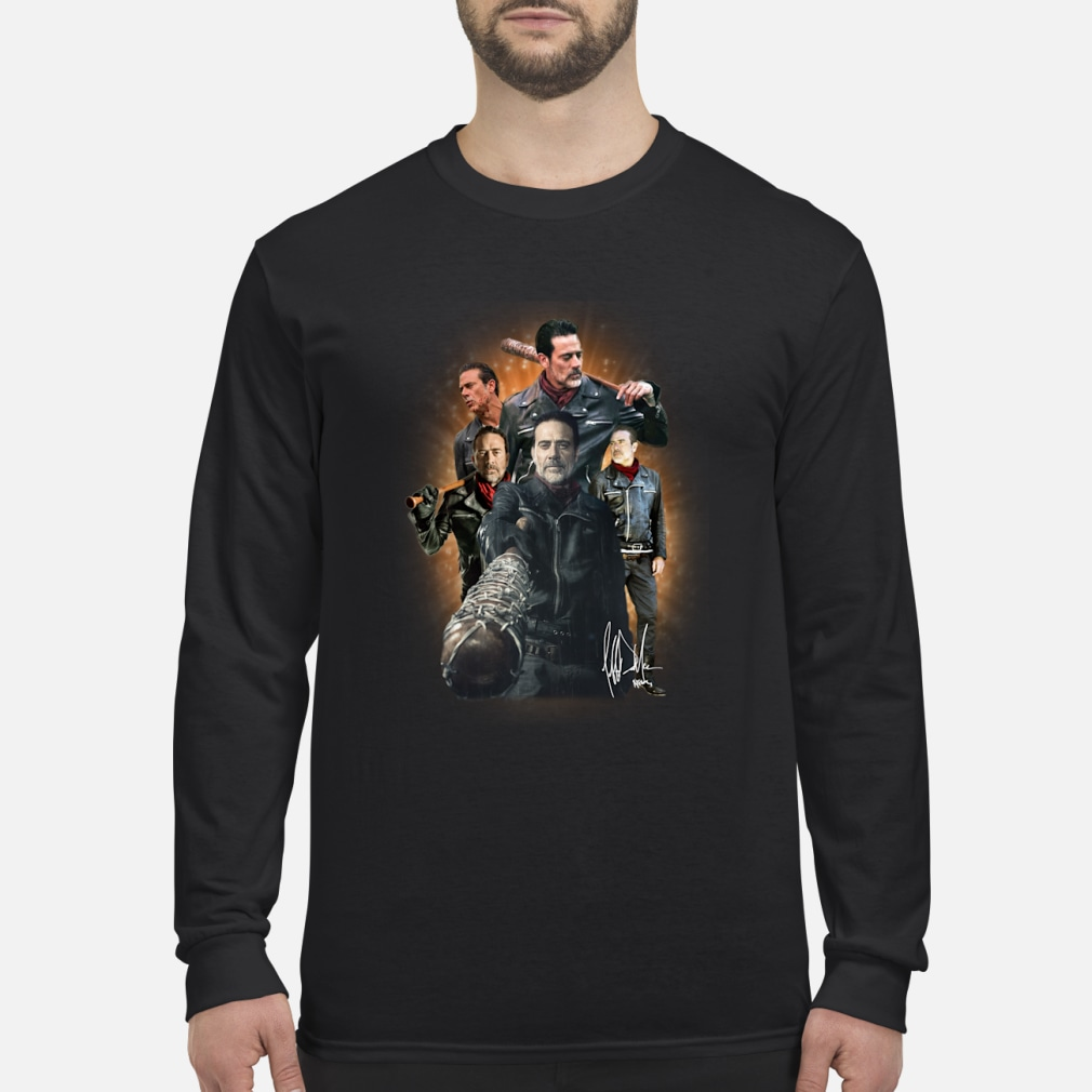 Negan_s walking dead characters shirt Long sleeved
