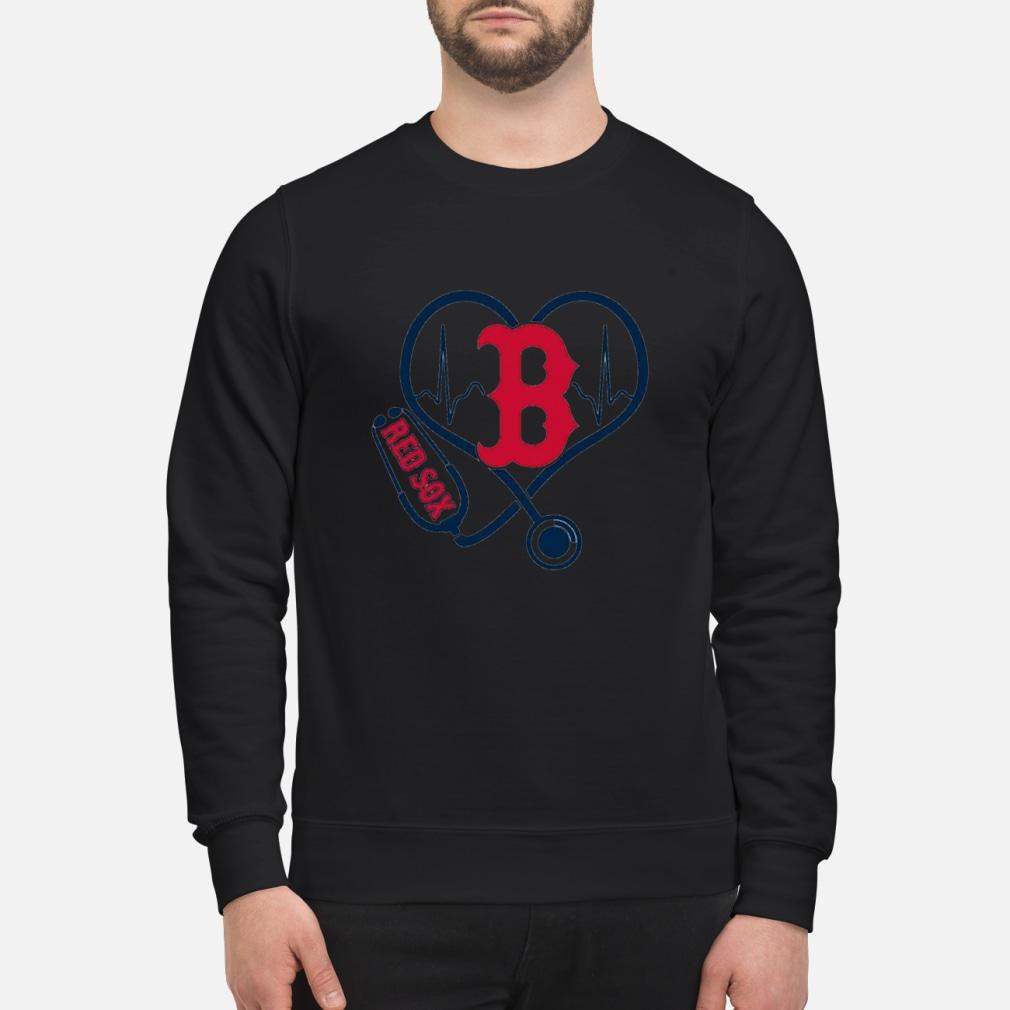 Nurse Boston Red Sox heart shirt sweater