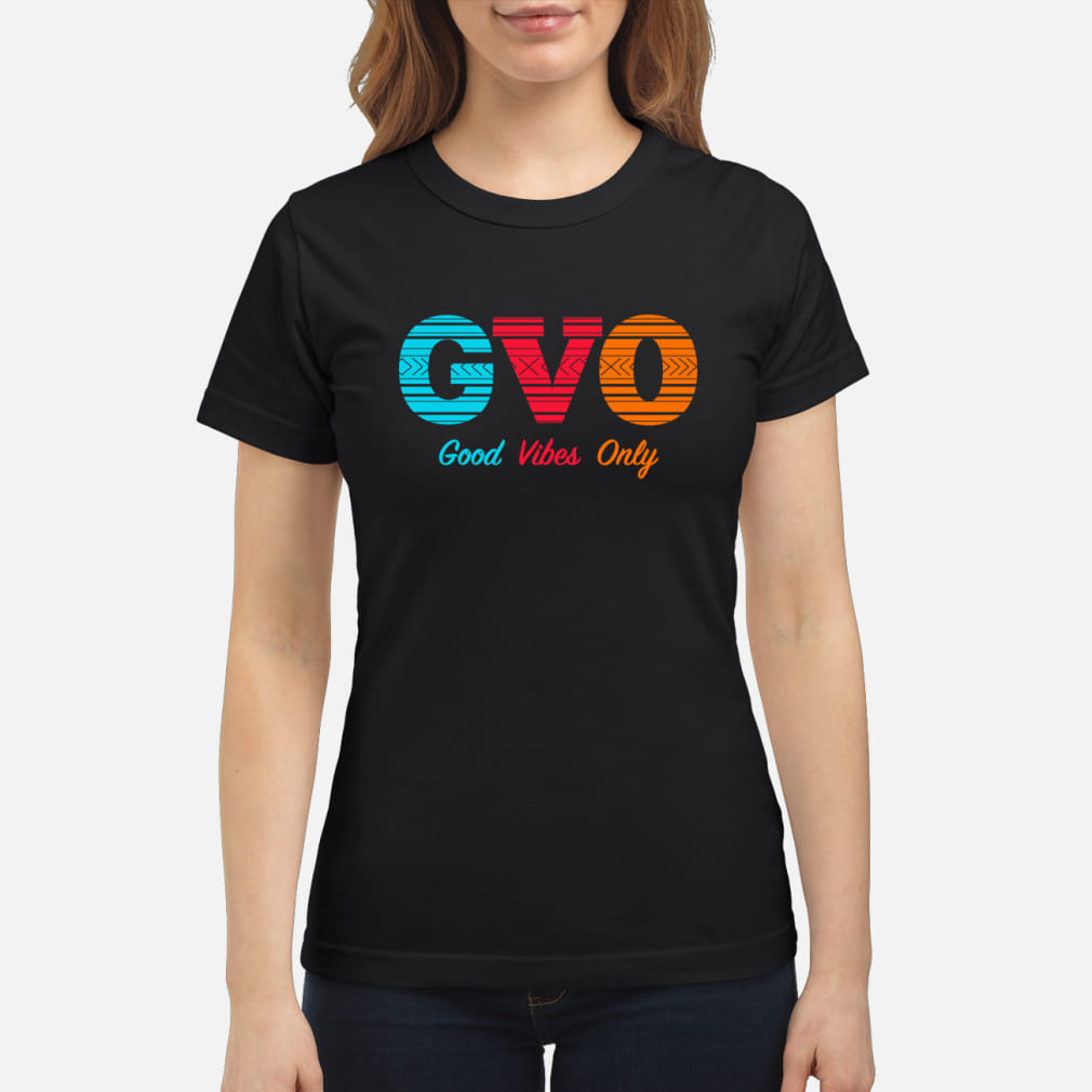 Patrick Mills GVO Good Vibes Only Shirt ladies tee