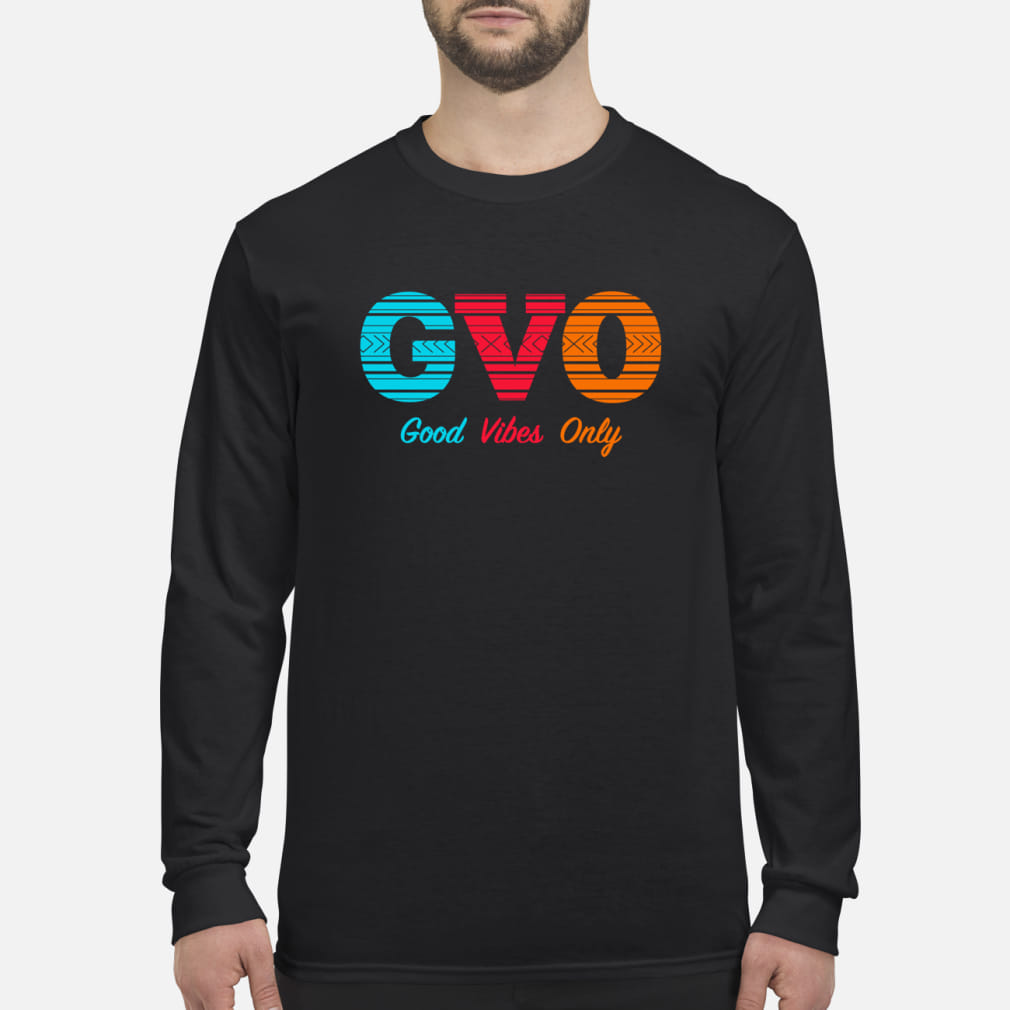 Patrick Mills GVO Good Vibes Only Shirt Long sleeved