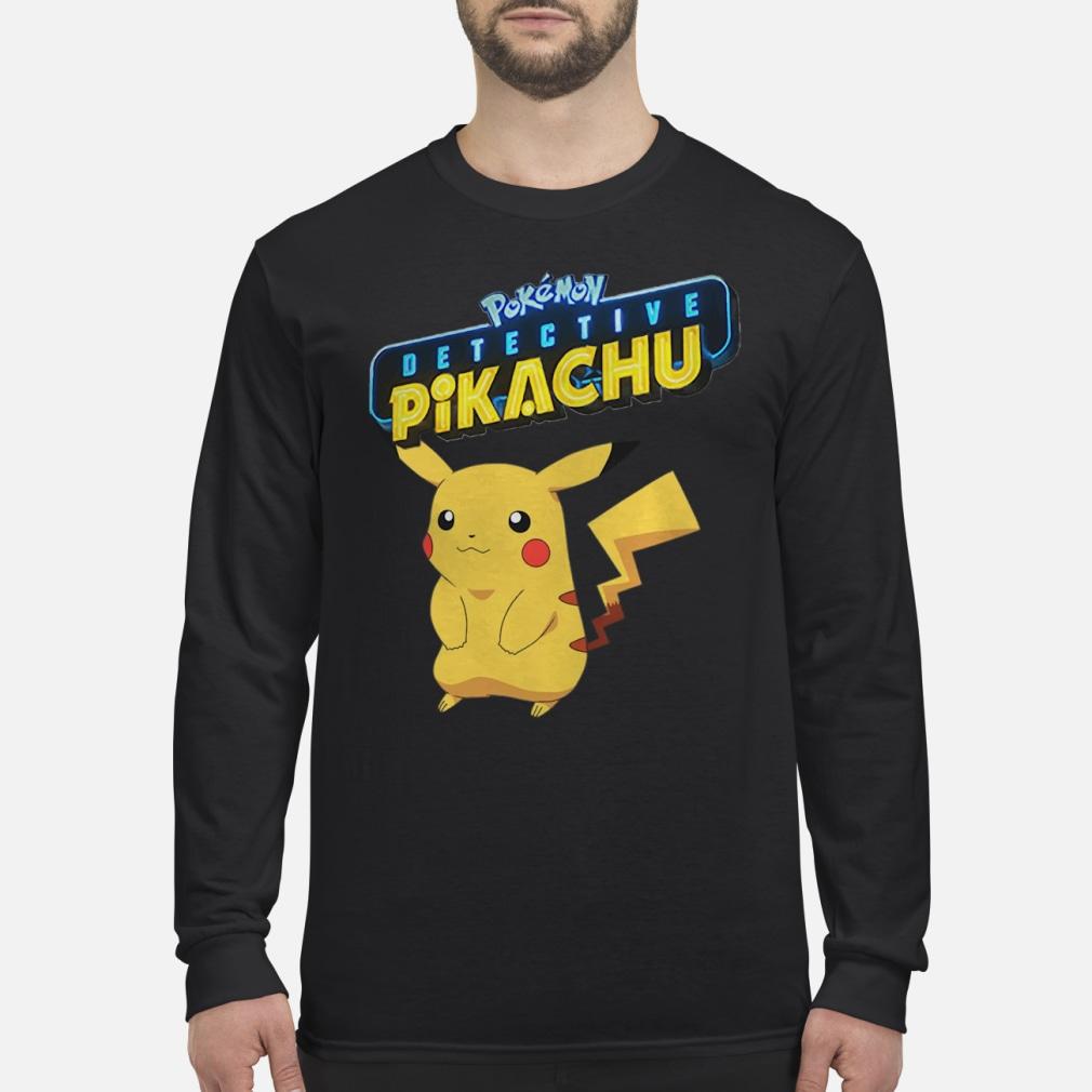 Pokemon Detective Pikachu shirt Long sleeved