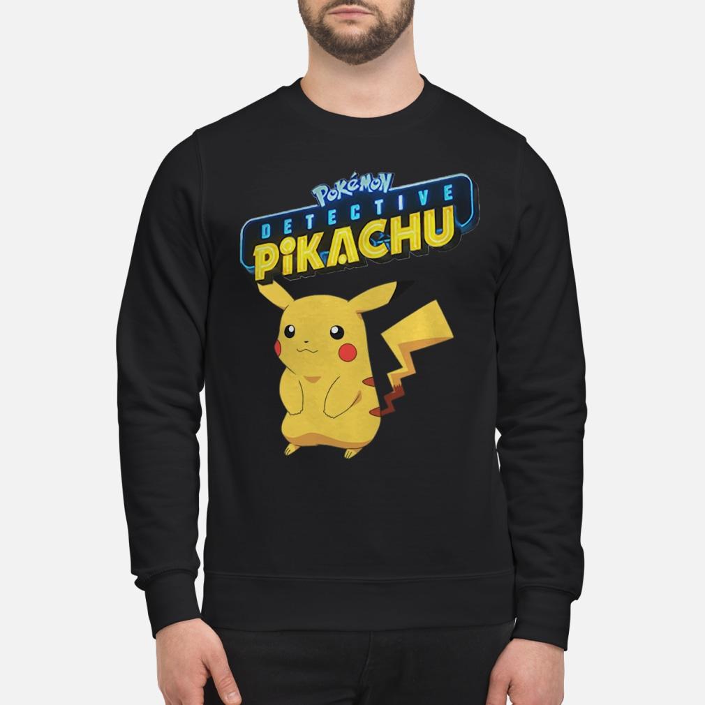 Pokemon Detective Pikachu shirt sweater
