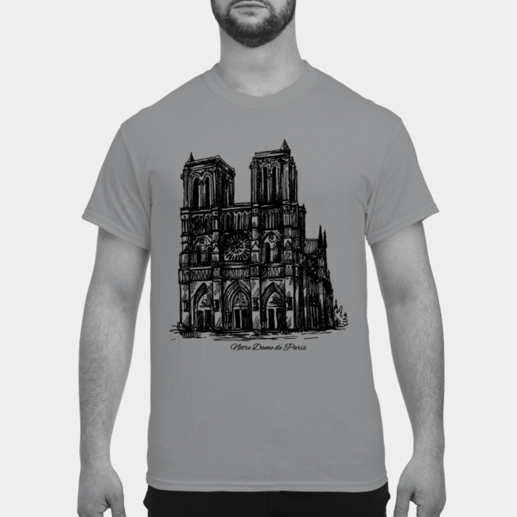 Pray Notre-Dame Cathedral Paris Shirt