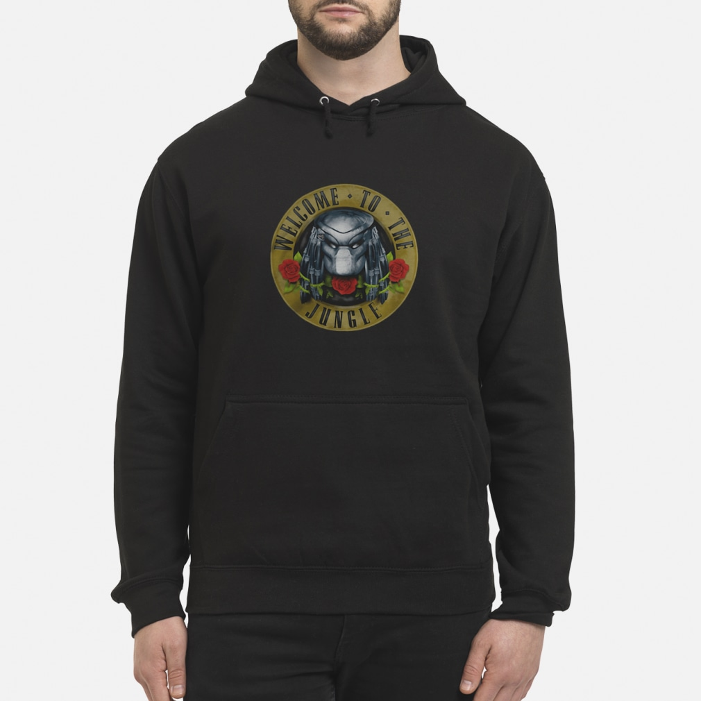 Predator welcome to the jungle shirt hoodie