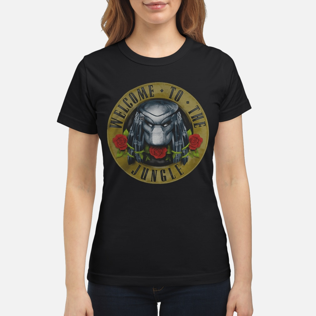 Predator welcome to the jungle shirt ladies tee