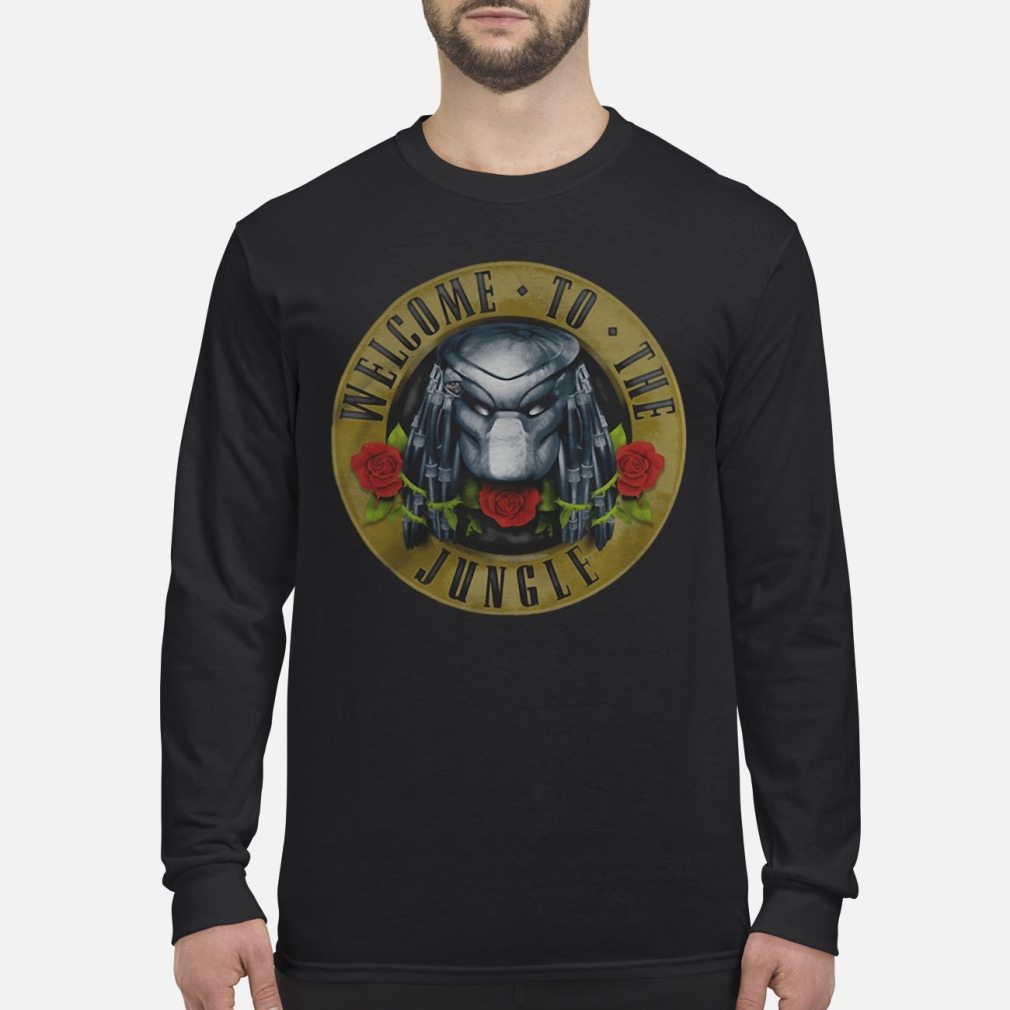 Predator welcome to the jungle shirt Long sleeved