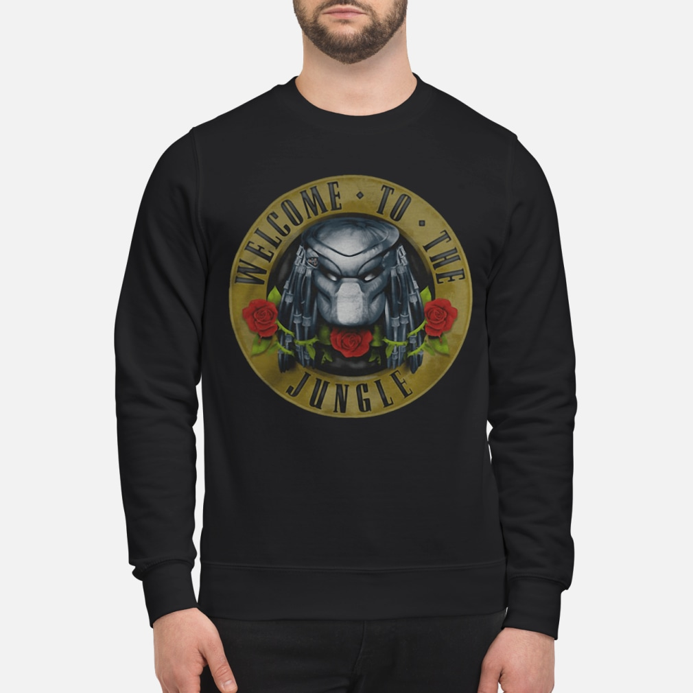 Predator welcome to the jungle shirt sweater