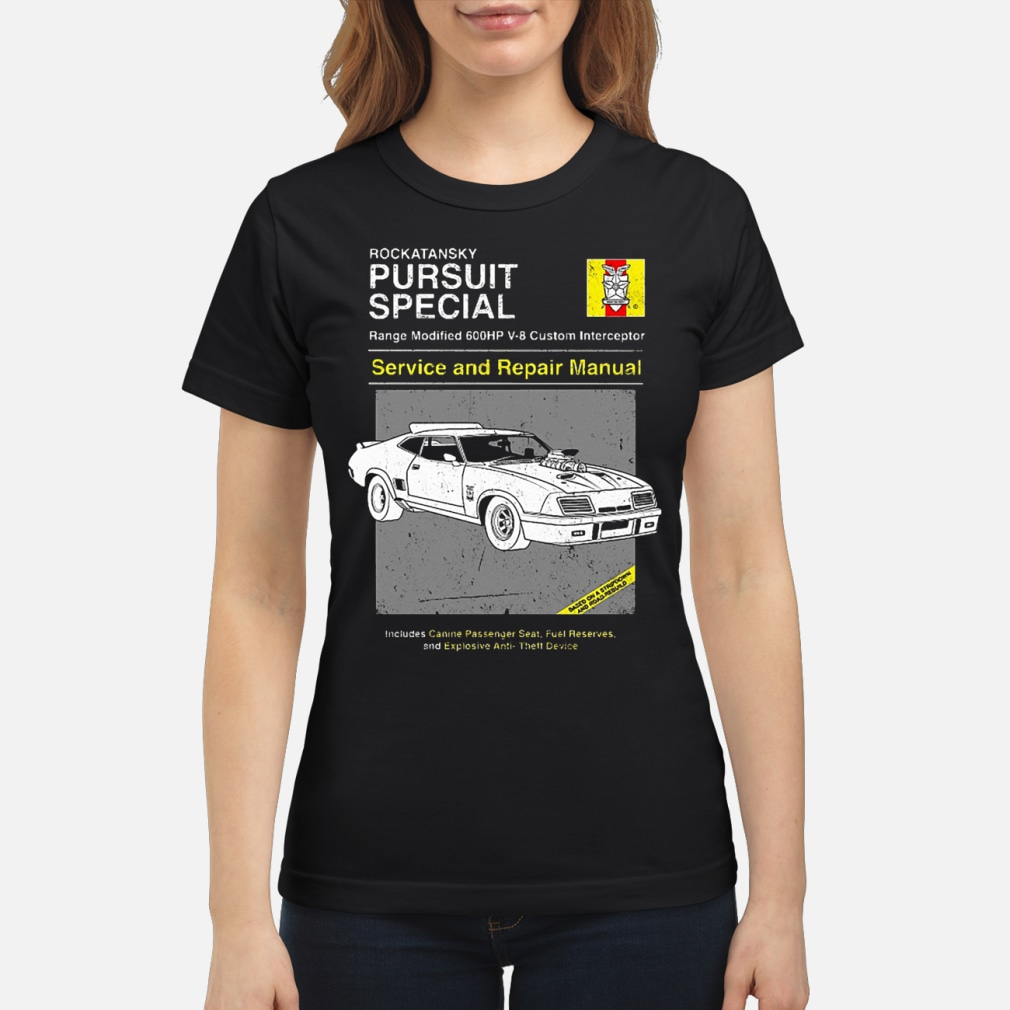 Pursuit Special Service and Repair shirt ladies tee
