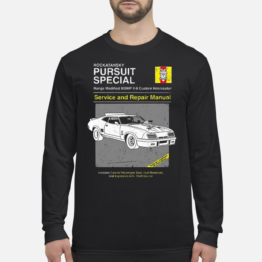 Pursuit Special Service and Repair shirt Long sleeved