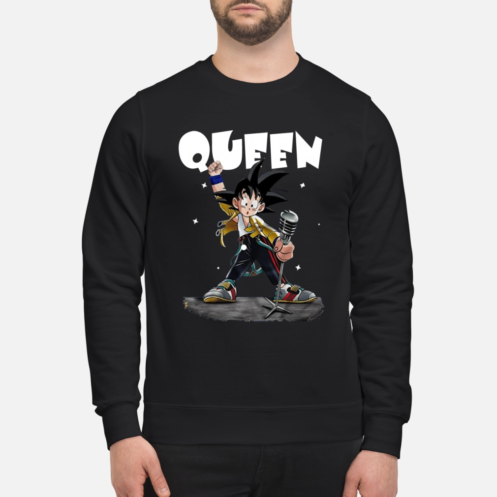 Queen Freddie Mercury Songoku shirt sweater