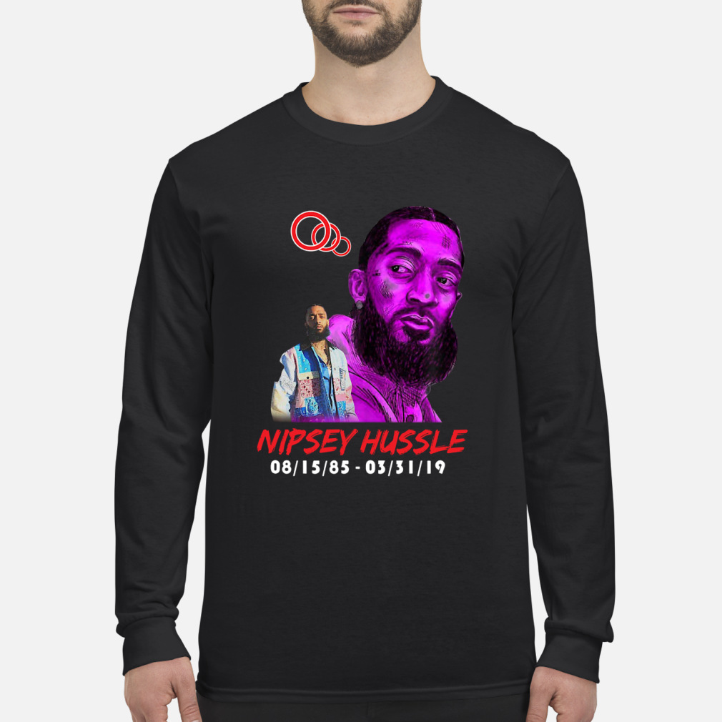 RIP NIPSEY HUSSLE CRERSHAW SHIRT Long sleeved