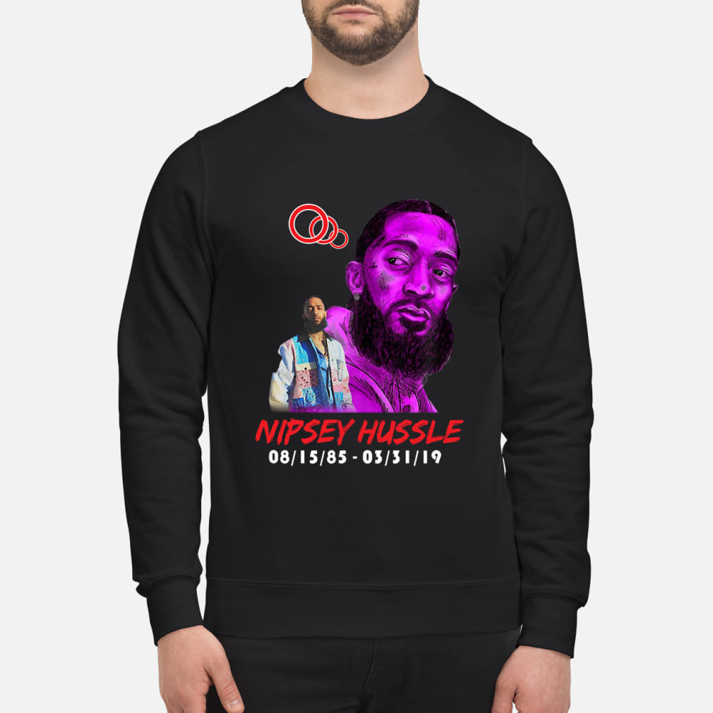 RIP NIPSEY HUSSLE CRERSHAW SHIRT sweater