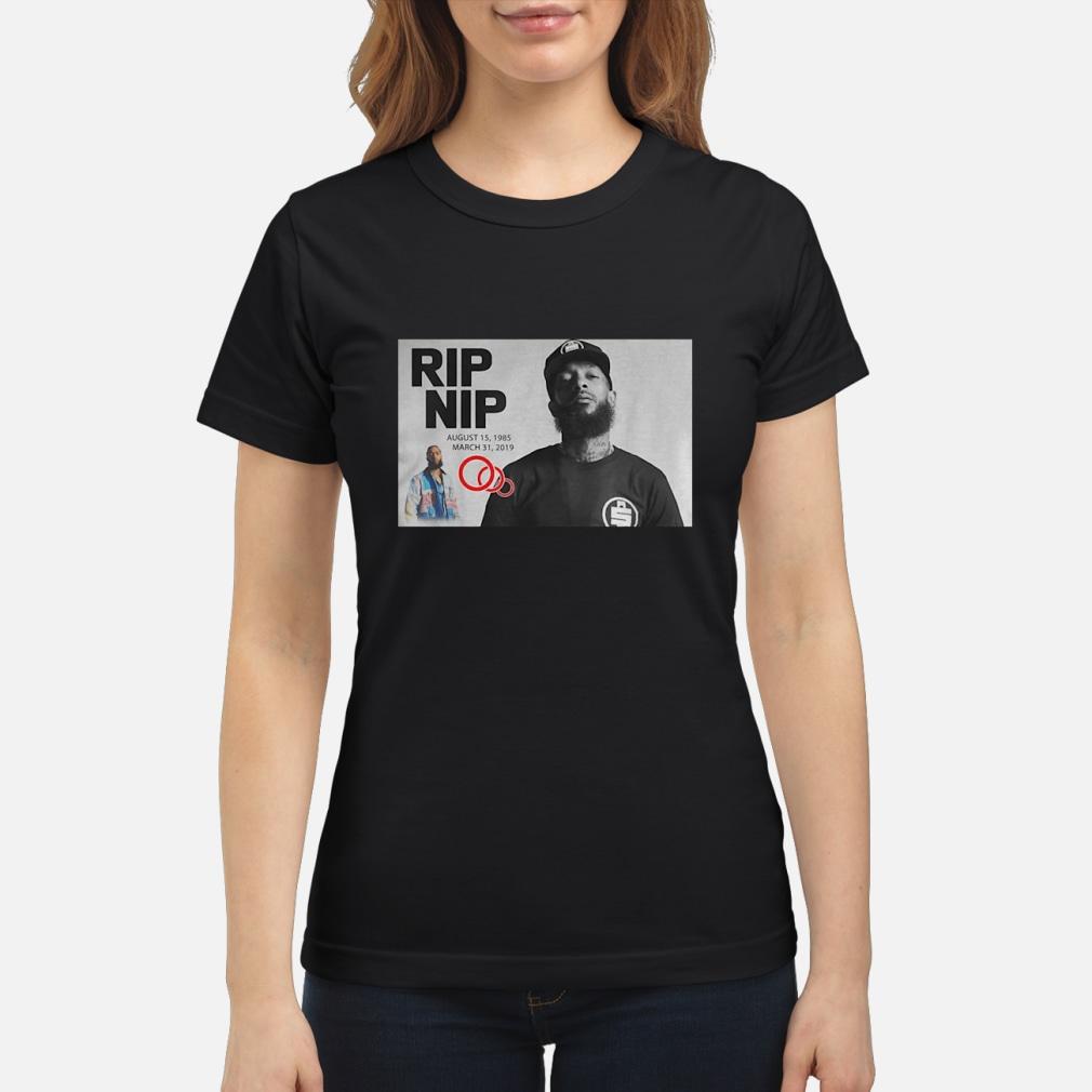 999e676ff6ace2 Rip Nipsey Hussle Crenshaw ladies shirt ladies tee