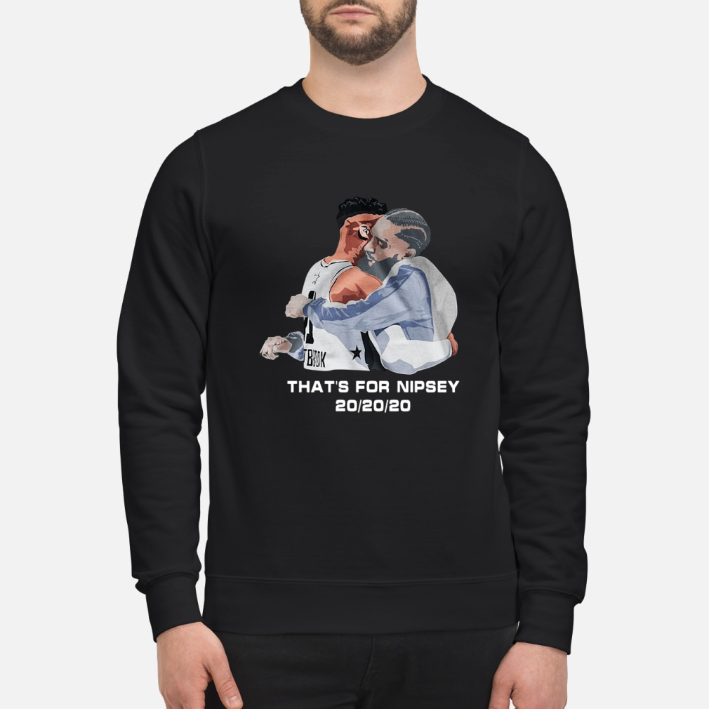 Russell Westbrook That for Nipsey 202020 shirt sweater