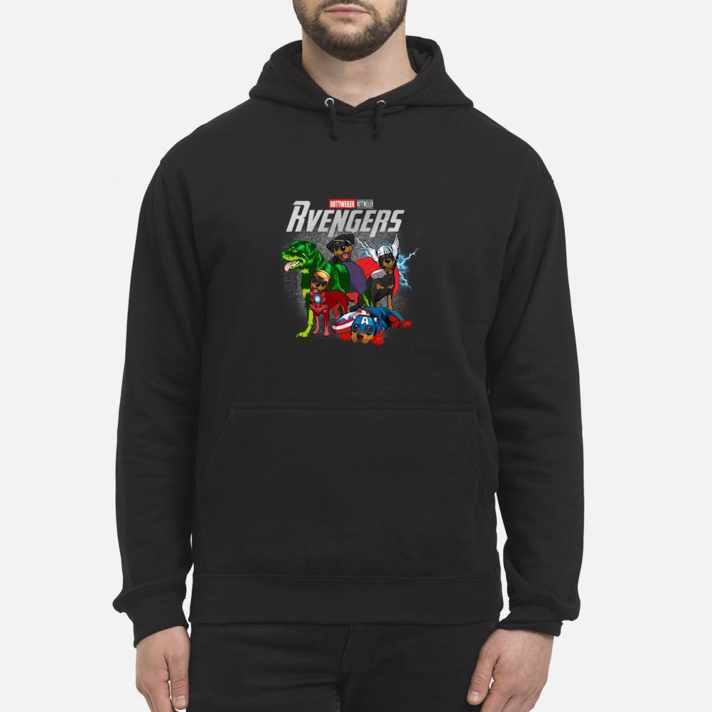 Rvengers Rottweiler Vaersion shirt hoodie