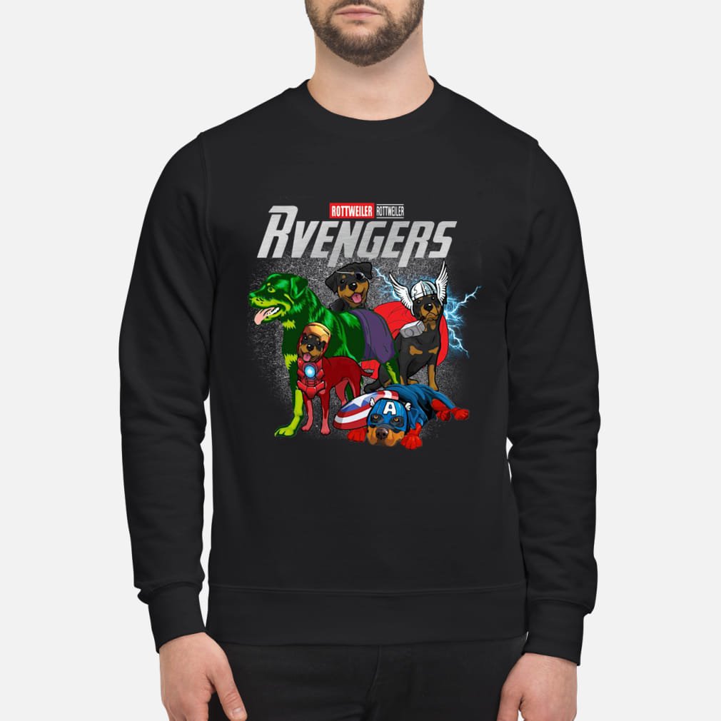 Rvengers Rottweiler Vaersion shirt sweater