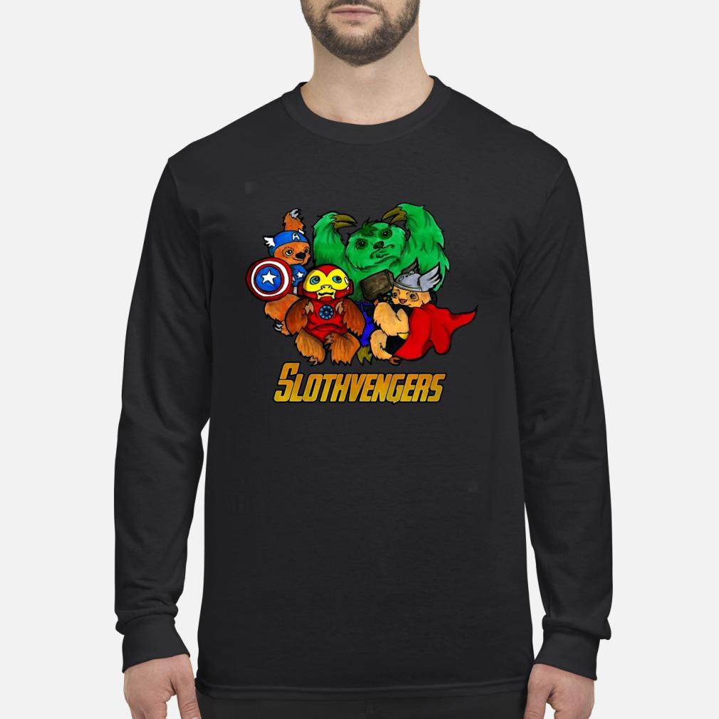 Slothvengers Hoodie Long sleeved