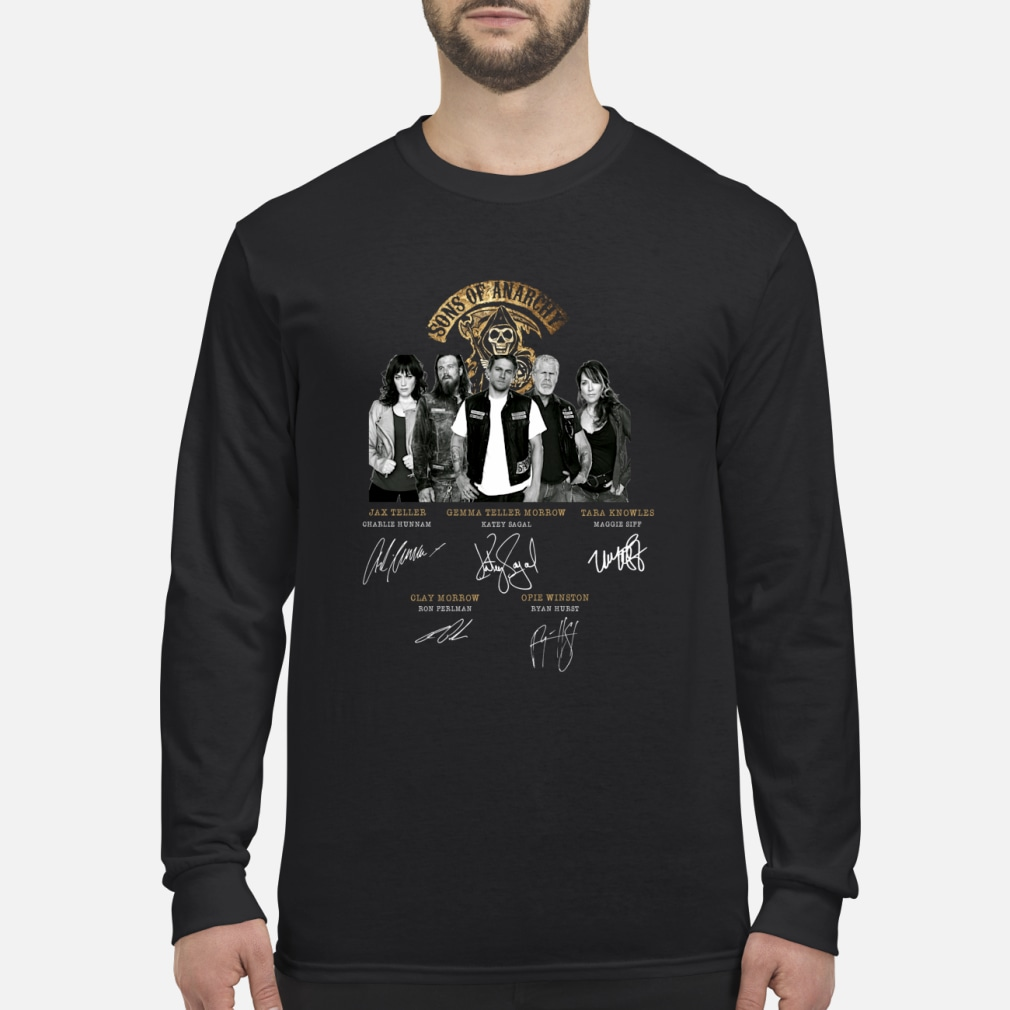 Sons of Anarchy signature shirt Long sleeved