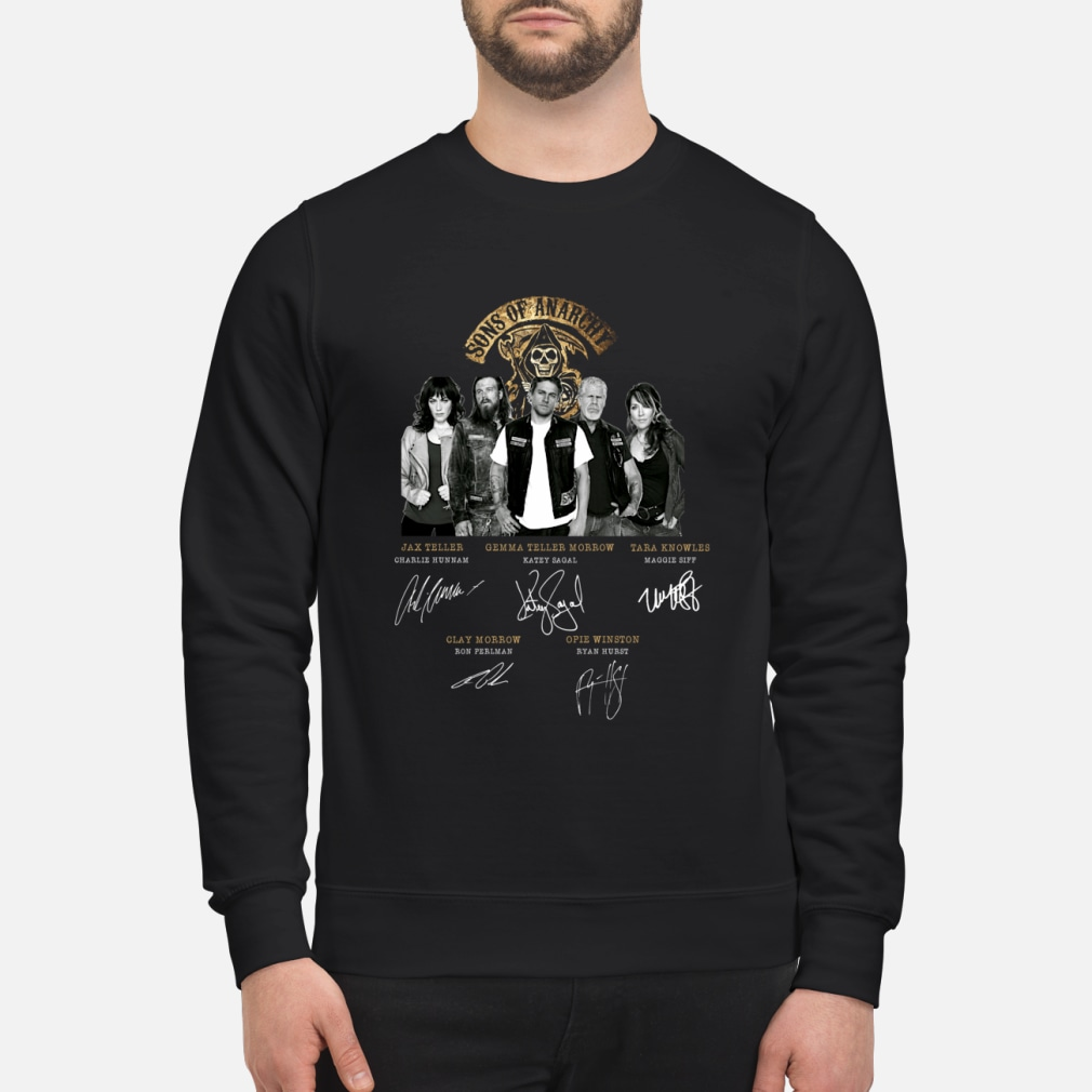 Sons of Anarchy signature shirt sweater