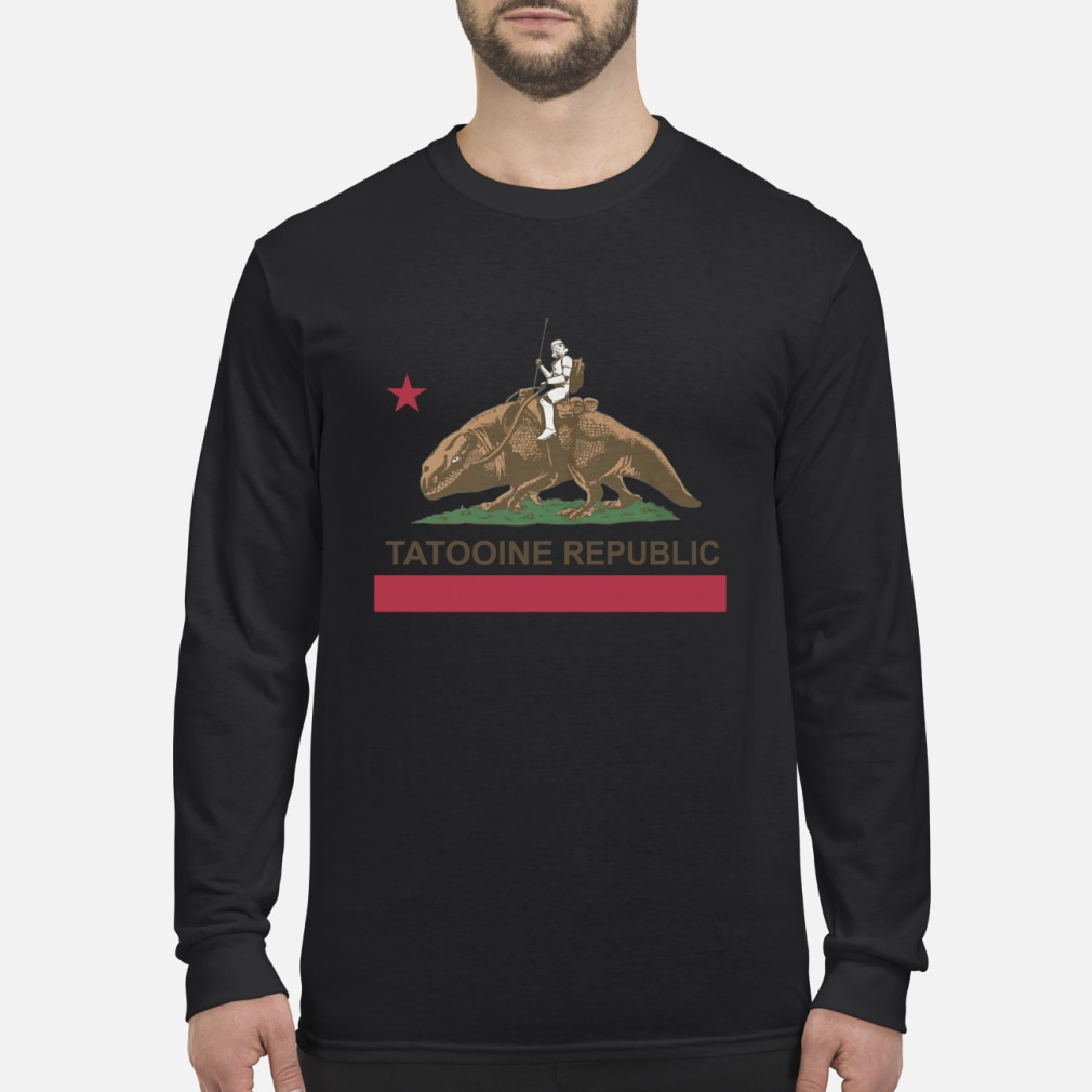Star Wars Tatooine Republic Shirt Long sleeved